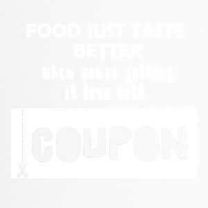 Couponing/Geschenke: Food just taste better ... - Thermobecher