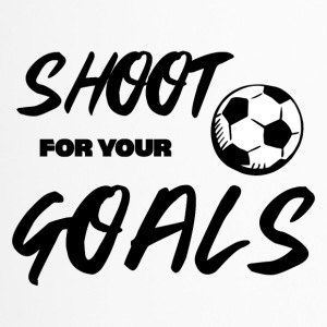 Football: Shoot for your Goals - Travel Mug