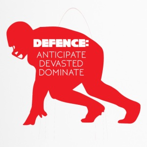 Football: Defence - Anticipate, Devasted, Dominate - Thermobecher