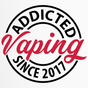 Vaping - Addicted desde 2017 - Taza termo