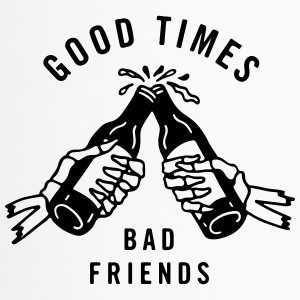 good times bad friends - Thermobecher