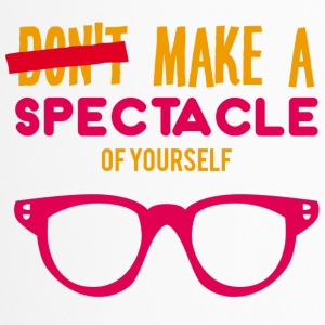 Optiker: Make a spectacle of yourself. - Thermobecher