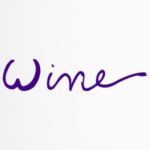 WINE art logo PAARS - Thermo mok