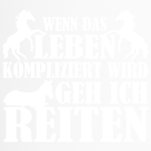 Reiten - Thermobecher