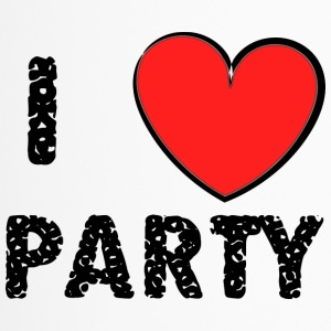 I love Party - Thermobecher