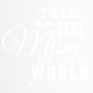 the best mom in the world white - Travel Mug