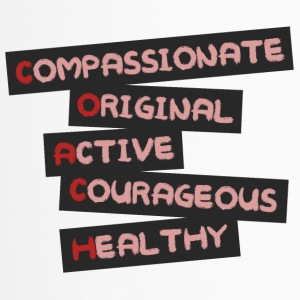 Coach / Trainer: Compassionate, Original, Active, - Thermobecher