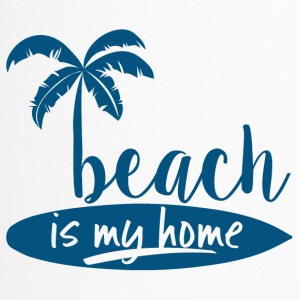 Surfer / Surfing: Beach is my home - Travel Mug