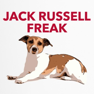 Jack Russel Freak red - Thermobecher