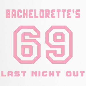 Bachelorette Getting Married 69 Last Night Out - Travel Mug