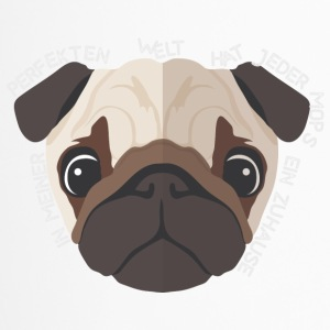 Pug - hjemme - Love - Animal - Termokopp