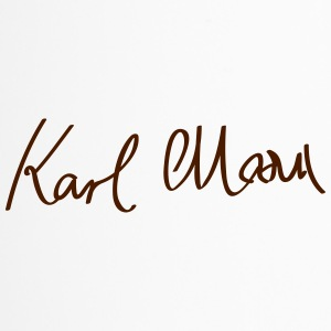 Signature of Karl Marx - Travel Mug