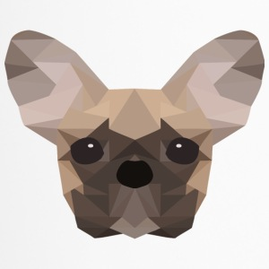 French Bulldog Low Poly - Travel Mug