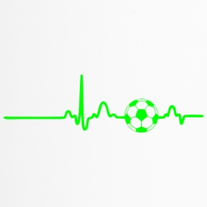 ECG HEART LINE SOCCER green - Travel Mug