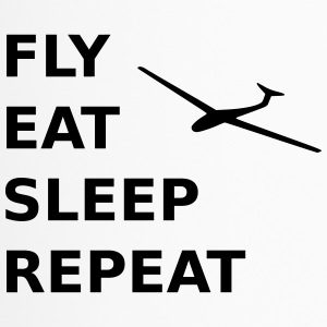 fly eat sleep repeat - Thermobecher