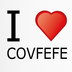i love cofefe Trump Donald Usa Black - Thermobecher