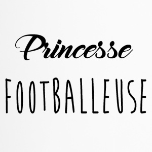 princesse footbaleuse - Mug thermos