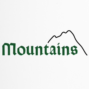 mountains green - Thermobecher