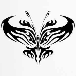 Tribal Tattoo Schmetterling - Thermobecher
