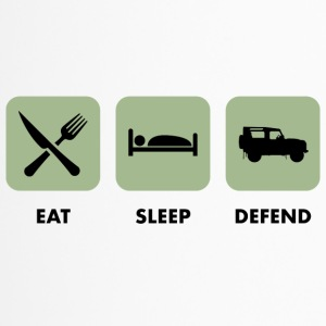 Eat, Sleep & Defend - Travel Mug