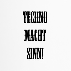 TECHNO MCHT SINN! - Thermobecher