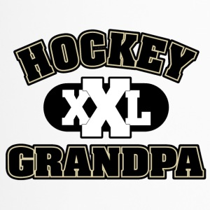 Hockey Grandpa Grandfather - Travel Mug