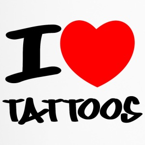 I love Tattoos - Thermobecher