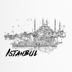 Istanbul - city view sketch - Travel Mug