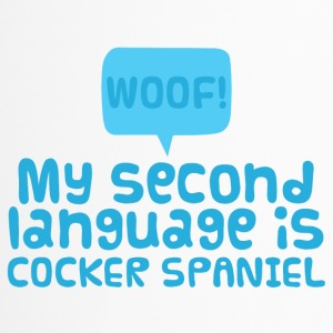 Dog / Cocker Spaniel: Woof! My Second Language Is - Travel Mug