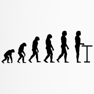 Evolution am Stehtisch - Thermobecher