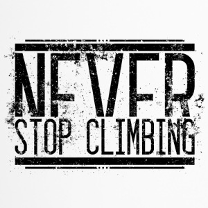 Never Stop Climbing Alt 001 AllroundDesigns - Travel Mug