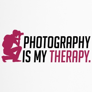 Photography is my therapy - Thermobecher