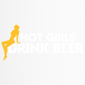 Hot Girls Drink Beer! - Travel Mug
