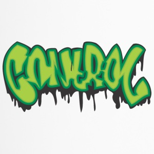 Kontrolle Graffiti - Thermobecher