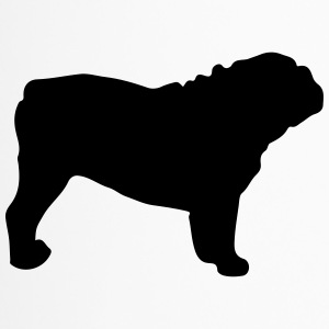 ENGLISH BULLDOG - ENGLISH BULLDOG Silhouette - Mug thermos