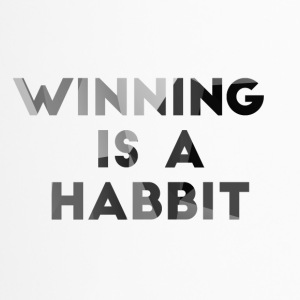 Football: Winning is a habbit. - Travel Mug