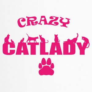 CRAZY Catlady pink - limited - Travel Mug