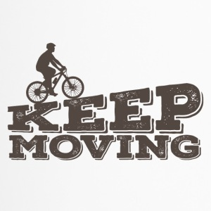 Bicycle: Keep Moving - Travel Mug
