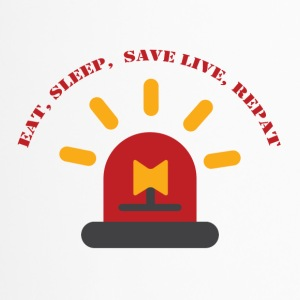 Fire Department: Eat, Sleep, Save Live, Repeat - Travel Mug