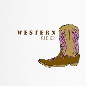 western rider colour - Thermobecher