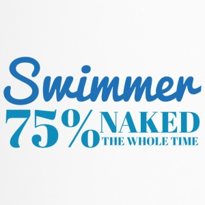 Swimming / Swimmer: Swimmer - 75% naked - Travel Mug