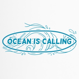 Surfer / Surfen: Ocean Is Calling - Thermobecher