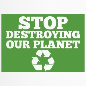 Earth Day / Dag: Stop de vernietiging Ons plan - Thermo mok