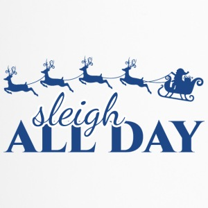 Natale Sleigh All Day - Tazza termica