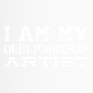 Iam my own makeup artist - white - Travel Mug
