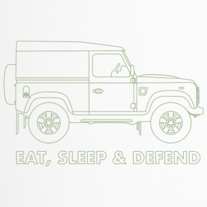Eat Sleep Defend - Travel Mug