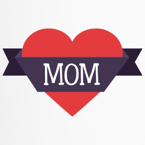 mom heart - Travel Mug
