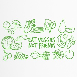 Veggie / Vegan: Eat Veggies, not Friends! - Thermobecher