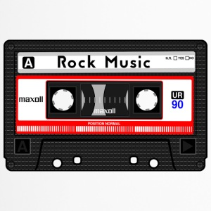ROCK MUSIC CASSETTE - Travel Mug