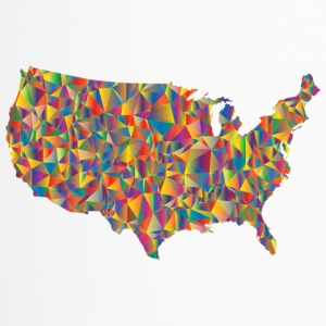COLORFULL AMERICA - Thermobecher